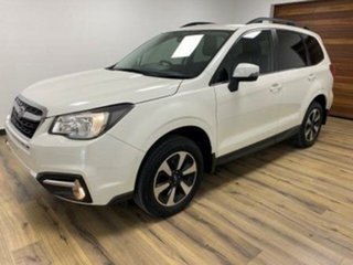 2017 Subaru Forester MY18 2.5I-S White Continuous Variable Wagon.