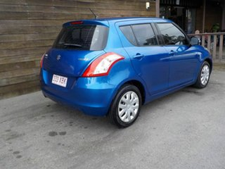 2011 Suzuki Swift FZ GL Blue 4 Speed Automatic Hatchback.