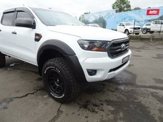 2018 Ford Ranger PX MKIII 2019.0 XLS White 6 Speed Sports Automatic Utility