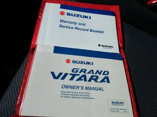 2008 Suzuki Grand Vitara JT Trekker Black 5 Speed Manual Wagon