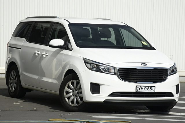 Used Kia Carnival YP MY18 S Wollongong, 2018 Kia Carnival YP MY18 S White 6 Speed Sports Automatic Wagon
