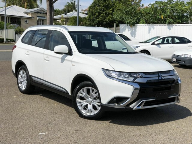Used Mitsubishi Outlander ZL MY20 ES AWD Chermside, 2019 Mitsubishi Outlander ZL MY20 ES AWD White 6 Speed Constant Variable Wagon