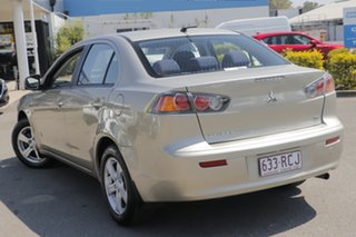 2009 Mitsubishi Lancer CJ MY10 ES Champagne 6 Speed Constant Variable Sedan.