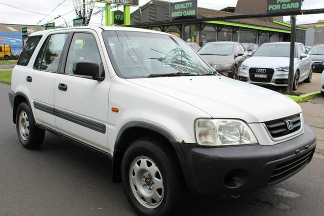Used Honda CR-V Sport 4WD West Footscray, 2000 Honda CR-V Sport 4WD White 4 Speed Automatic Wagon