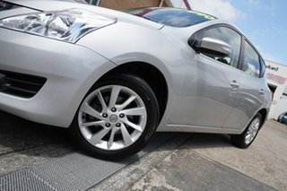 2014 Nissan Pulsar C12 ST-L Silver 1 Speed Constant Variable Hatchback.