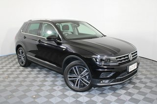 2019 Volkswagen Tiguan 5N MY19.5 162TSI DSG 4MOTION Highline Black 7 Speed.