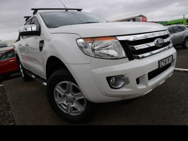Used Ford Ranger Kingswood, Ford 2014.75 DOUBLE PU XLT NON SVP 3.2D 6M 4X4