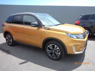 2019 Suzuki Vitara Series II Turbo Solar Yellow & Cosmic Black Roof 6 Speed Automatic Wagon.