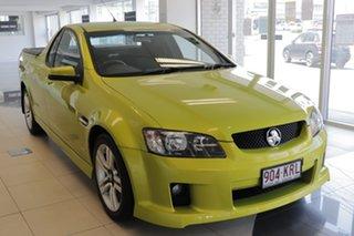 2007 Holden Ute VE SS Green 6 Speed Manual Utility.