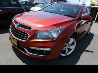 2015 Holden Cruze JH MY15 SRi V Orange 6 Speed Manual Hatchback.