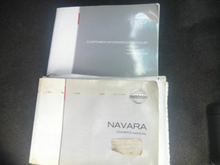 2013 Nissan Navara D40 S5 MY12 ST-X Blackline Black 7 Speed Sports Automatic Utility.