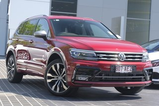 2020 Volkswagen Tiguan 5N MY20 162TSI Highline DSG 4MOTION Allspace Ruby Red 7 Speed