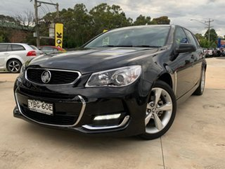 2016 Holden Commodore SV6 Black Sports Automatic Wagon.