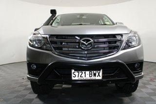 2018 Mazda BT-50 UR0YG1 XTR Silver 6 Speed Sports Automatic Utility.
