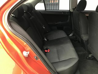 2011 Mitsubishi Lancer CJ MY11 SX Orange 5 Speed Manual Sedan