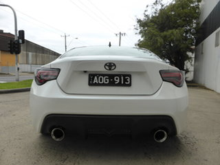 2016 Toyota 86 ZN6 GT Crystal White Pearl 6 Speed Manual Coupe