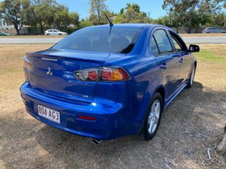 2009 Mitsubishi Lancer CJ MY09 VR Blue 5 Speed Manual Sedan