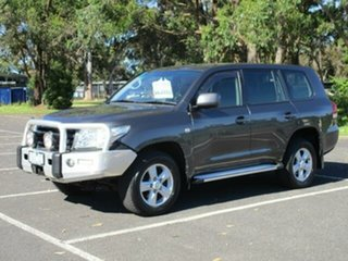2011 Toyota Landcruiser 200 SERIES Altitude Grey Automatic Wagon.