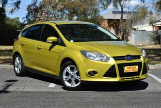 2011 Ford Focus LW Trend Yellow 5 Speed Manual Hatchback.