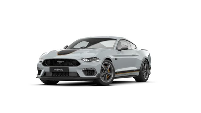 New Ford Mustang FN 2021.50MY Mach 1 Fastback SelectShift RWD Christies Beach, 2021 Ford Mustang FN 2021.50MY Mach 1 Fastback SelectShift RWD Fighter Jet Gray 10 Speed