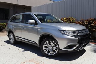 2020 Mitsubishi Outlander ZL MY21 ES 2WD Sterling Silver 6 Speed Constant Variable Wagon.