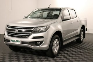 2016 Holden Colorado RG MY16 LT Crew Cab Silver 6 speed Automatic Utility.
