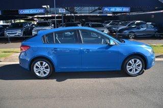 2015 Holden Cruze JH MY15 Equipe Blue 5 Speed Manual Hatchback.