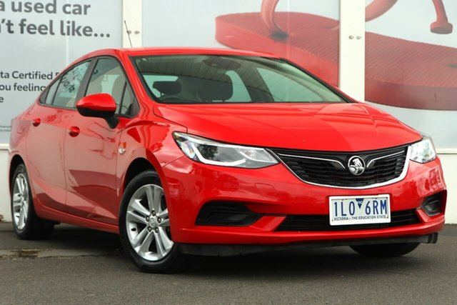 Pre-Owned Holden Astra BL MY17 LS+ Ferntree Gully, 2017 Holden Astra BL MY17 LS+ Absolute Red 6 Speed Sports Automatic Sedan