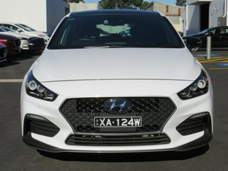 2019 Hyundai i30 PD.3 MY19 N Line D-CT Premium White 7 Speed Sports Automatic Dual Clutch Hatchback.