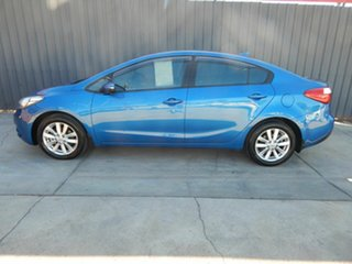 2014 Kia Cerato YD MY15 S Premium Blue 6 Speed Sports Automatic Sedan