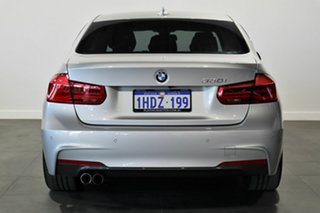 2017 BMW 3 Series F30 LCI 330i M Sport Silver 8 Speed Sports Automatic Sedan