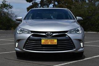 2017 Toyota Camry ASV50R Altise Silver 6 Speed Sports Automatic Sedan.