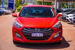 2015 Hyundai i30 GD3 Series II MY16 SR Red 6 Speed Sports Automatic Hatchback