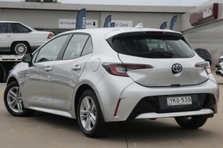 2020 Toyota Corolla ZWE211R Ascent Sport Hybrid Silver Continuous Variable Hatchback.