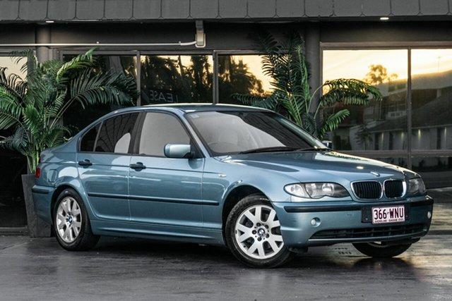 Used BMW 3 Series E46 MY2003 318i Steptronic Bowen Hills, 2003 BMW 3 Series E46 MY2003 318i Steptronic Green 5 Speed Sports Automatic Sedan