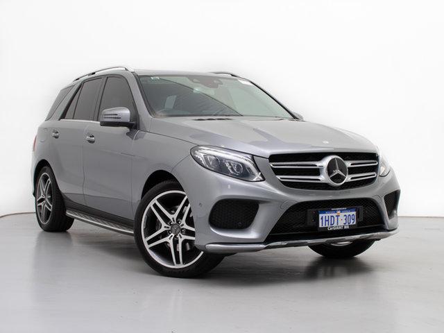 Used Mercedes-Benz GLE250D 166 , 2015 Mercedes-Benz GLE250D 166 Silver 9 Speed Automatic Wagon