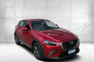 2018 Mazda CX-3 DK2W7A Akari SKYACTIV-Drive FWD Red 6 Speed Sports Automatic Wagon.