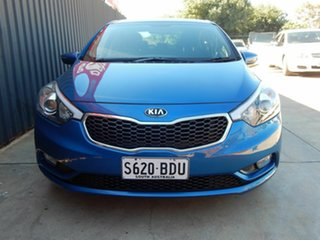 2014 Kia Cerato YD MY15 S Premium Blue 6 Speed Sports Automatic Sedan.
