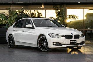 2012 BMW 320i F30 MY0812 320i White 8 Speed Sports Automatic Sedan.