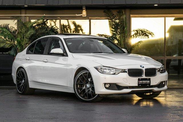 Used BMW 320i F30 MY0812 320i Bowen Hills, 2012 BMW 320i F30 MY0812 320i White 8 Speed Sports Automatic Sedan