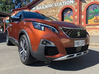 2018 Peugeot 3008 P84 MY18 GT SUV Brown 6 Speed Sports Automatic Hatchback.