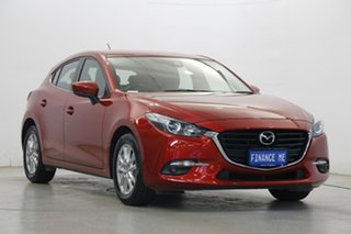 2017 Mazda 3 BN5478 Maxx SKYACTIV-Drive Soul Red 6 Speed Sports Automatic Hatchback