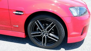 2012 Holden Commodore VE II MY12 SV6 Red 6 Speed Sports Automatic Sedan.