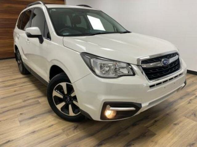 Used Subaru Forester MY18 2.5I-S Wangaratta, 2017 Subaru Forester MY18 2.5I-S White Continuous Variable Wagon
