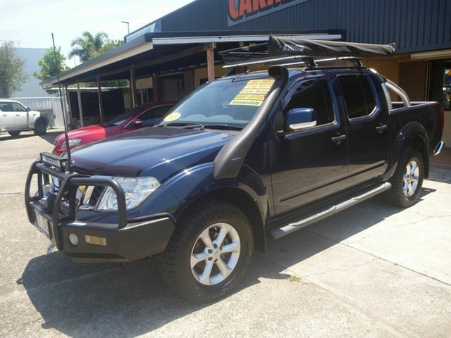 Used Nissan Navara D40 S7 ST Morayfield, 2014 Nissan Navara D40 S7 ST Blue 6 Speed Manual Utility