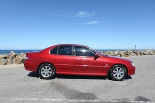 2005 Holden Berlina VZ Red 4 Speed Automatic Sedan