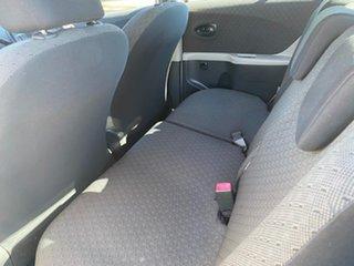 2009 Toyota Yaris NCP90R MY09 YR White 5 Speed Manual Hatchback