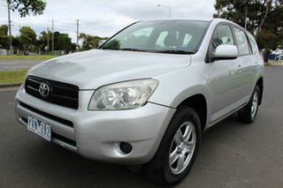 2007 Toyota RAV4 ACA33R MY08 CV Silver 4 Speed Automatic Wagon