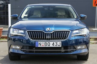 2017 Skoda Superb NP MY17 140TDI Sedan DSG Blue 6 Speed Sports Automatic Dual Clutch Liftback