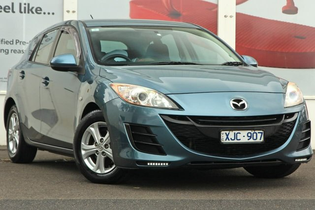 Pre-Owned Mazda 3 BL10F1 Maxx Activematic Ferntree Gully, 2009 Mazda 3 BL10F1 Maxx Activematic Blue 5 Speed Sports Automatic Hatchback